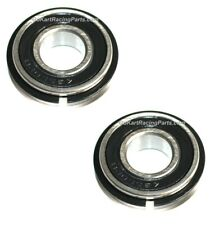 2) Wheel Hub Bearing & Snap Ring 5/8 x 1 3/8 Go Kart Racing Bearings Mini Bike