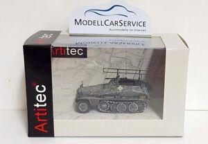 Artitec 1/87: 6870285 Sd.kfz. 250/3 Lights Funkpanzerwagen, Gray - Wintertarn