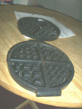 Malted Waffle Baker ~Hot Waffle Plates`Preowned