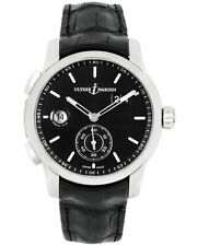 Ulysse Nardin Dual Time Manufacture 42mm Automatic Mens Watch 3343-126/92