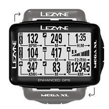 Lezyne Mega XL GPS, Bicicleta GPS Computadora, Bicicleta Navegación