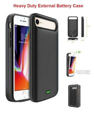 IPhone 7 For External Battery Power 5500mAh Rechargeable Cover Case