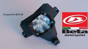 "BETA 300 RR Led Headlight ""BLACK"" (and others Beta enduro models) Front Light"