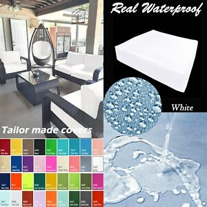 TAILOR MADE COVER*Patio Bench Cushion Waterproof Outdoor Swing Sofa Daybed Dw26