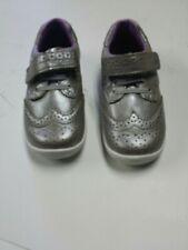 Stride rite Srt addison Memory Foam Girl Sneakers Shoes 7W Metallic Gold Sheen