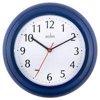 Wall Clock, Acctim Wycombe Wall Clock, Blue