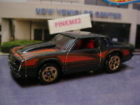 '86 MONTE CARLO SS ☆Black☆2018 Hot Wheels Target THROWBACK LOOSE Exclusive