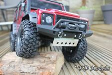 Metal alloy Sump Guard for Traxxas TRX-4 Landrover D110 Scale Crawler