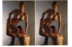 Boris Starosta original Stereoview - signed 2010 - Betty D-133