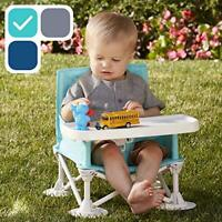 Baby-to-Love Pocket Chair Portable High-Chair Travel Blue StripC23c26c35c36