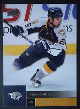 NHL 129 Steve Sulivan Nashville Predators Upper Deck 2009/10