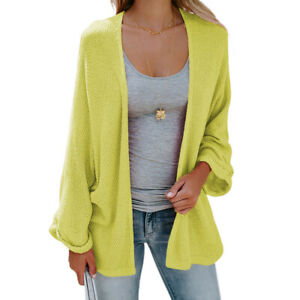 Autumn and Winter New Sweater Women's Explosive Mid-length Thin Knit Cardigan