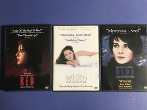 3 DVD Collection: Red, White and Blue (Kieslowski)