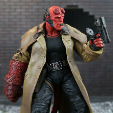 "Hellboy Mezco HB 7"" Action Figure Smoking Ver. Series 2 Collection 18cm With Box"