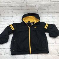 Starter Jacket Children Size M Yellow Black Size 8-10