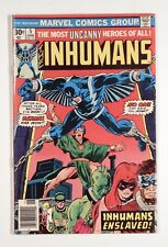 Inhumans #5-#11 run (Marvel 1976-77) -- 5 6 7 8 9 10 11