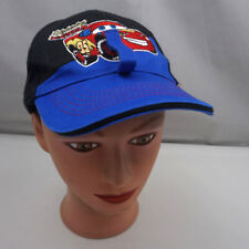 Cars Lightning McQueen Hat Black Stitched Toddler Baseball Cap Pre-Owned ST225