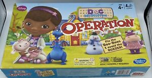 Hasbro Disney Doc Mcstuffins Operation Classic Children's & Family Board Game