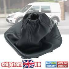 For Ford Transit Van MK7 06 -14 Black Stitch Gear Stick Gaiter Boot Pu Leather