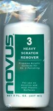 Alpha Abrasives Novus Plastic Polish #3 Heavy Scratch Remover 8oz Bottle #003-8