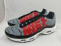 Nike Air Max Plus TN SE Shoes Men's Black/White/Red  (AT0040-001) Sz 11.5 Us