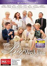 The Big Wedding DVD=INC ULTRAVIOLET=Robert De Niro=REGION 4=NEW AND SEALED