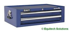Sealey AP26029TC Blue Add On Mid Chest Tool Box Ball Bearing Runners Slides New
