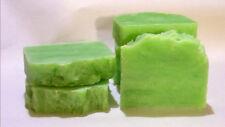 SHEA BUTTER SOAP  ~  TOMATO & BASIL ~ 6 LG ARGAN OIL SOAP BARS