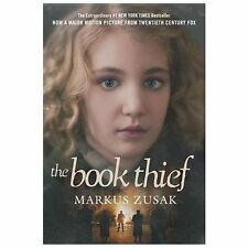 The Book Thief a paperback book by Markus Zusak paperback FREE SHIP theif