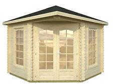 Gartenhaus + Schindeln 300x300 cm Pavillon Pavillion Gerätehaus Holzhaus Hütte