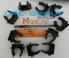"""Rapidair MAXLINE Compressed air  3/4"""" TUBING PIPING CLIPS  (10 pack)   M8065"""