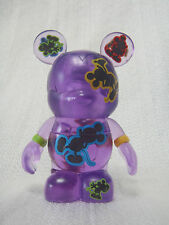 """Disney Vinylmation Oh Mickey Mouse Series - Purple Clear Jumping 3"""" Figure"""