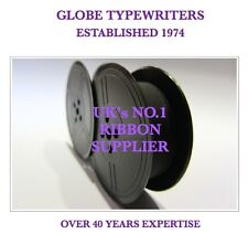 ROVER 5000 SUPER DeLUXE *PURPLE* TOP QUALITY *10 METRE*TYPEWRITER RIBBON+EYELETS