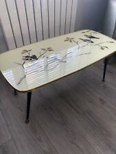 Vintage 50s/ 60s Coffee Table With Dansette Legs MID CENTURY Eames