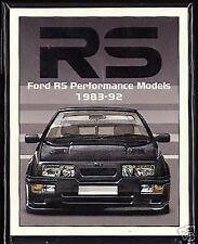 Escort Car Sales Brochures 1989