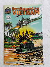 2001 New England Dark Comic Book In-Country Vietnam #3 Mature Readers Fine-