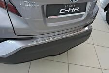 Toyota C-HR ab 2016  LADEKANTENSCHUTZ  EDELSTAHL  Satin mit Abkantung
