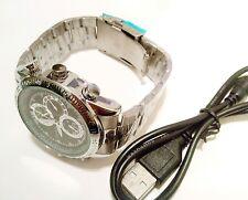 8gb video OROLOGIO DA POLSO MINI DV DVR SPY CAM Orologio fotocamera videocamera registratore Watch