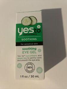 Yes To Cucumbers Sensitive Skin Soothing Eye Gel 1oz 070
