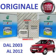 KIT TAGLIANDO FILTRI ORIGINALI +OLIO SELENIA FIAT PANDA 1.4 NATURAL POWER METANO
