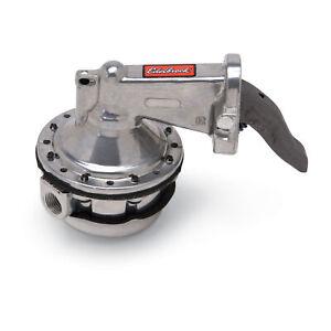Edelbrock 1723 Mechanical Fuel Pump Perf rpm Street 110 gph Gas Only BB Chrysler