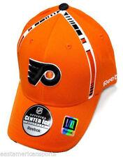 Philadelphia Flyers NHL Hockey Reebok Center Ice Flexfit Cap Kappe NEU Size S/M