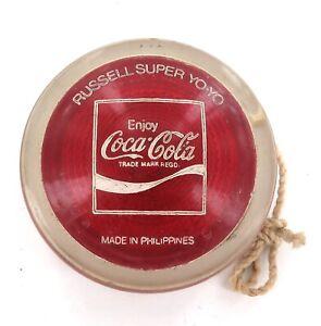 VINTAGE c1970s COCA-COLA RUSSELL SUPER YOYO YO-YO. #3