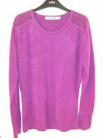 SUPERSOFT LADIES CASHMASOFT JUMPER TOP - SIZE = XS