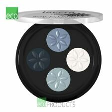 Lavera Trend Organic Mineral Eyeshadow Quattro Platinum Blue 07 4X 0.8g