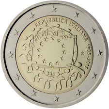 Italia 2015 - 2 Euro Comm - 30th Aniversario de la Unión Europea Bandera (UNC)