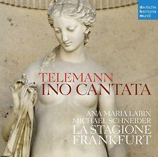 ANA-MARIA LABIN - INO-KANTATE TWV 20:41/SUITE D-DUR 55:D 23  CD NEU TELEMANN