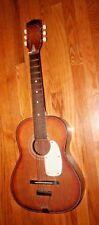 Vtg Norma Parlor 3/4 Children's Acoustic Guitar Fg 7 Wood