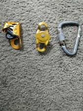 Petzl chest croll plus micro block and karabiner