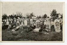 JUDAICA WWI 1918 Germany feldpost card Judischer Friedhof von Brest-Litowsk